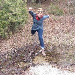 jumping photo